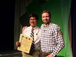 Student Receives Perfect Score on National Latin Exam