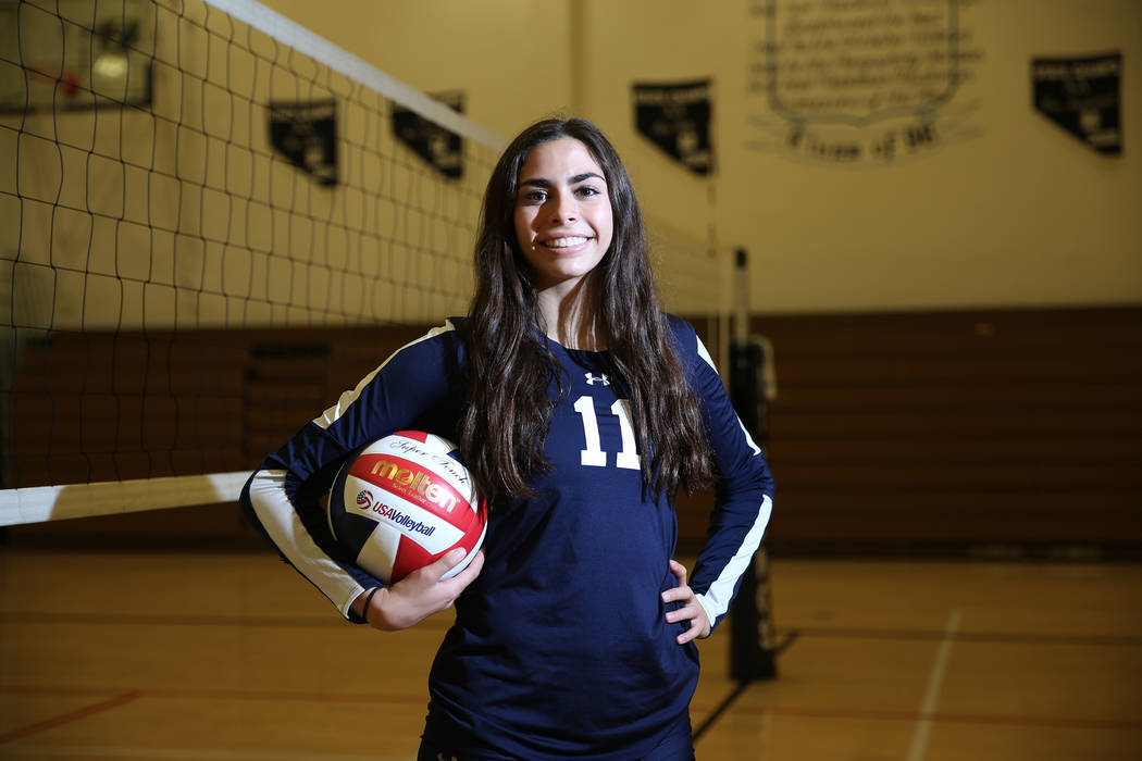 The Meadows volleyball star relentless in pursuit of D-I offer